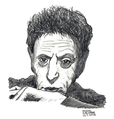 Cartoon: Philip Glass (medium) by Pascal Kirchmair tagged philip,glass,illustration,drawing,zeichnung,pascal,kirchmair,cartoon,caricature,karikatur,ilustracion,dibujo,desenho,ink,disegno,ilustracao,illustrazione,illustratie,dessin,de,presse,du,jour,art,of,the,day,tekening,teckning,cartum,vineta,comica,vignetta,caricatura,portrait,retrato,ritratto,portret,kunst,minimal,music,baltimore,maryland,composer,musician,musik,musiker,komponist,usa,pencil,bleistift,philip,glass,illustration,drawing,zeichnung,pascal,kirchmair,cartoon,caricature,karikatur,ilustracion,dibujo,desenho,ink,disegno,ilustracao,illustrazione,illustratie,dessin,de,presse,du,jour,art,of,the,day,tekening,teckning,cartum,vineta,comica,vignetta,caricatura,portrait,retrato,ritratto,portret,kunst,minimal,music,baltimore,maryland,composer,musician,musik,musiker,komponist,usa,pencil,bleistift