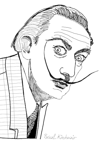 Cartoon: Salvador Dali (medium) by Pascal Kirchmair tagged salvador,dali,marquis,marques,de,pubol,cartoon,caricature,karikatur,drawing,zeichnung,illustration,illustrazione,pascal,kirchmair,ilustracion,portrait,retrato,dibujo,desenho,ritratto,disegno,ilustracao,illustratie,dessin,du,jour,art,of,the,day,tekening,teckning,cartum,vineta,comica,vignetta,caricatura,artist,artista,artiste,kunst,künstler,maler,painter,peintre,pintor,pittore,wacom,cintiq,21,ux,digital,salvador,dali,marquis,marques,de,pubol,cartoon,caricature,karikatur,drawing,zeichnung,illustration,illustrazione,pascal,kirchmair,ilustracion,portrait,retrato,dibujo,desenho,ritratto,disegno,ilustracao,illustratie,dessin,du,jour,art,of,the,day,tekening,teckning,cartum,vineta,comica,vignetta,caricatura,artist,artista,artiste,kunst,künstler,maler,painter,peintre,pintor,pittore,wacom,cintiq,21,ux,digital