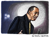 Cartoon: Ben E. King (small) by Pascal Kirchmair tagged ben king rhythm and blues stand by me caricature karikatur portrait rnb