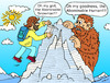 Cartoon: Yeti (small) by Pascal Kirchmair tagged legende bigfoot yeti reinhold messner himalaya mount everest