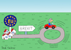 Cartoon: Brexit... (small) by Pascal Kirchmair tagged hard brexit brexiteer cartoon caricature theresa may karikatur brexiteers pascal kirchmair no deal illustration drawing zeichnung political politische ilustracion dibujo desenho ink disegno ilustracao illustrazione illustratie dessin de presse du jour art of the day tekening teckning cartum vineta comica vignetta caricatura great britain großbritannien england angleterre inghilterra inglaterra united kingdom royaume uni regno unito reino unido politik politics politicians politique jean claude juncker michel barnier negociations european union uk eu ue boris johnson