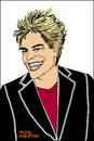 Cartoon: Campino (small) by Pascal Kirchmair tagged die toten hosen campino caricature karikatur cartoon illustration zeichnung punk rock band düsseldorf portrait