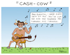 Cartoon: Cash cow (small) by Pascal Kirchmair tagged johnny,cash,cow,humor,humour,drawing,illustration,zeichnung,ilustracion,ilustracao,dibujo,desenho,dessin,disegno,ritratto,pascal,kirchmair,caricature,karikatur,cartoon,tekening,portret,cartum,teckning,caricatura,karikatür,illustrazione,illustratie,impersonator,double,interpret,kuh,imitator