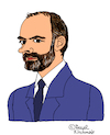 Cartoon: Edouard Philippe (small) by Pascal Kirchmair tagged edouard philippe premier ministre france caricature karikatur dessin humour dibujo desenho disegno illustration cartoon zeichnung humor frankreich paris matignon