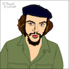 Cartoon: Ernesto Che Guevara (small) by Pascal Kirchmair tagged kuba cuba libre havanna habana havana la avana ernesto che guevara caricatura karikatur portrait retrato dibujo drawing illustration cartoon cartum dessin ritratto porträt caricature zeichnung desenho disegno ilustracion illustrazione ilustracao