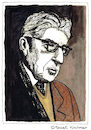 Cartoon: ERNST BLOCH (small) by Pascal Kirchmair tagged ernst,bloch,portrait,retrato,ritratto,zeichnung,drawing,dessin,dibujo,desenho,disegno,illustration,image,bild,watercolour,aquarell,ink,tusche,philosoph,philosophy,marxist,schriftsteller,author,auteur,ecrivain,escritor,scrittore,autore,autor