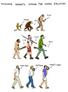 Cartoon: Favourite Gadgets of Humanity (small) by Pascal Kirchmair tagged human,evolution,menschliche,humaine,favorite,favourite,gadgets,lieblingsspielereien