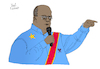 Cartoon: Felix Tshisekedi (small) by Pascal Kirchmair tagged felix tshisekedi democratic republic of the congo demokratische republik kongo kinshasa illustration drawing zeichnung pascal kirchmair political cartoon caricature karikatur ilustracion dibujo desenho ink disegno ilustracao illustrazione illustratie dessin de presse du jour art day tekening teckning cartum vineta comica vignetta caricatura portrait retrato ritratto portret kunst paris france president politiker politician politics präsident