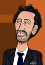Cartoon: Gad Elmaleh (small) by Pascal Kirchmair tagged gad,elmaleh,cartoon,caricature,karikatur,vignetta,dessin,portrait,france,canada,french,comique,komiker