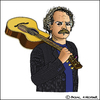 Cartoon: Gianmaria Testa (small) by Pascal Kirchmair tagged gianmaria,testa,cantautore,caricature,cartoon,portrait,retrato,ritratto,karikatur,dibujo,desenho,disegno,sänger,liedermacher,singer,songwriter,chansonnier,chanteur,italien,italiano,italian