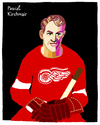 Cartoon: Gordie Howe (small) by Pascal Kirchmair tagged gordie howe ice mr hockey detroit red wings cartoon caricature karikatur eishockey canada kanada illustration drawing dessin dibujo desenho disegno vignetta