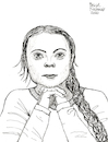 Cartoon: Greta Thunberg (small) by Pascal Kirchmair tagged greta,thunberg,climate,change,fridays,for,future,schweden,gretl,suede,suecia,svezia,schulstreik,klima,sweden,illustration,drawing,zeichnung,pascal,kirchmair,cartoon,caricature,karikatur,ilustracion,dibujo,desenho,ink,disegno,ilustracao,illustrazione,illustratie,dessin,de,presse,du,jour,art,of,the,day,tekening,teckning,cartum,vineta,comica,vignetta,caricatura,portrait,porträt,portret,retrato,ritratto,person,year,time,magazine,skolstrejk,klimatet,youth,jugend,heute,demonstration,klimaschutz
