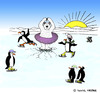 Cartoon: Ice Dancing Ice Bear (small) by Pascal Kirchmair tagged pinguins,eisbär,ours,blanc,dancing,ice,bear,tutu,nordpol,north,pole,nord,eislaufen,skating,pinguine,eistanzen,breaking,bad,through,einbrechen,südpol,sud,south,eisloch,hole