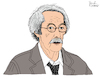 Cartoon: Jean Rochefort (small) by Pascal Kirchmair tagged jean rochefort dibuix illustration drawing zeichnung pascal kirchmair cartoon caricature karikatur ilustracion dibujo desenho ink disegno ilustracao illustrazione illustratie dessin de presse du jour art of the day tekening teckning cartum vineta comica vignetta caricatura paris france acteur actor attore ator schauspieler frankreich calmos un elephant ca trompe enormement