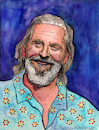 Cartoon: Jeff Bridges (small) by Pascal Kirchmair tagged jeff,bridges,the,big,lebowski,caricature,karikatur,portrait,retrato,drawing,zeichnung,dibujo,dessin,porträt,ilustracao,ilustracion,illustration,ritratto,aquarell,watercolour,watercolor