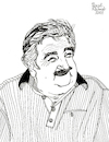 Cartoon: Jose Mujica (small) by Pascal Kirchmair tagged jose,pepe,mujica,illustration,drawing,zeichnung,pascal,kirchmair,political,cartoon,caricature,karikatur,ilustracion,dibujo,desenho,ink,disegno,ilustracao,illustrazione,illustratie,dessin,de,presse,du,jour,art,of,the,day,tekening,teckning,cartum,vineta,comica,vignetta,caricatura,portrait,retrato,ritratto,portret,kunst,politiker,politician,politics,presidente,president,präsident,uruguay