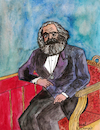 Cartoon: KARL MARX (small) by Pascal Kirchmair tagged karl,marx,portrait,porträt,retrato,drawing,desenho,zeichnung,dibujo,dessin,karikatur,caricature,pascal,kirchmair,ritratto,watercolour,disegno,aquarell,illustration,ilustracao,ilustracion,trier,marxismus,sozialismus,kommunismus,socialism