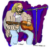 Cartoon: Kurt Cobain (small) by Pascal Kirchmair tagged song,singer,songwriter,seattle,the,man,who,sold,world,kurt,cobain,nirvana