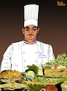 Cartoon: PAUL BOCUSE II (small) by Pascal Kirchmair tagged monsieur paul chef cuisinier illustration caricature karikatur drawing dessin zeichnung pascal kirchmair desenho dibujo ilustracion ilustracao illustrazione illustratie tekening teckning cartoon portrait porträt retrato ritratto portret cartum art of the day du jour