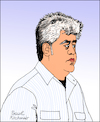 Cartoon: Pedro Almodovar (small) by Pascal Kirchmair tagged pedro,almodovar,cartoon,caricature,karikatur,portrait,porträt,retrato,ritratto,vignetta,espana,regisseur,dibujo,desenho,dessin,zeichnung,illustration,drawing
