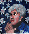 Cartoon: Pedro Almodovar (small) by Pascal Kirchmair tagged pedro,almodovar,cartoon,caricature,karikatur,portrait,dibujo,dessin,drawing,desenho,retrato,pascal,kirchmair