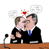 Cartoon: Putin und Janukowytsch (small) by Pascal Kirchmair tagged putin wladimir wiktor janukowitsch ukraine russland karikatur political cartoon caricature