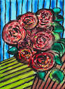 Cartoon: Roses (small) by Pascal Kirchmair tagged rosenstock,blumen,flowers,abstract,abstrakt,abstrakte,kunst,rosenstrauch,rosen,roses,bush,rosier,rosaio,roseira,rosal,rosas,rose,abstrait,abstracto,abstrato,astratto,blumenaquarell,aquarell,painting,bild,watercolor,watercolour,wild,cuadro,quadro,picture,garden,jardin,garten,peinture,dipinto,pittura,pintura,artwork,arte,art,illustration,drawing,zeichnung,pascal,kirchmair,ilustracion,dibujo,desenho,ink,disegno,ilustracao,illustrazione,illustratie,dessin,du,jour,of,the,day,tekening,teckning,giardino