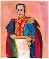 Cartoon: Simon Bolivar (small) by Pascal Kirchmair tagged simon,bolivar,venezuela,cartoon,portrait,retrato,dibujo,desenho,ilustracion,illustration,drawing,pascal,kirchmair,ilustracao,dessin,ritratto,caricature,karikatur