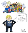 Cartoon: The Optimist (small) by Pascal Kirchmair tagged bojo brexit no deal eu european union wir schaffen das hard brexshit conservative party tories tory torys conservatives boris johnson 10 downing street bojos flying circus humor humour gag umorismo umore spirito lustig pascal kirchmair illustration drawing zeichnung political cartoon caricature politische karikatur ilustracion dibujo desenho ink disegno ilustracao illustrazione illustratie dessin de presse du jour art of the day tekening teckning cartum vineta comica vignetta caricatura esprit witz prime minister great little britain england united kingdom politics politique politik politica