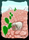 Cartoon: Bearly surviving (small) by kar2nist tagged global,warming,bears,arctic,parched,earth