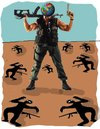 Cartoon: Commando 2 (small) by kar2nist tagged terrorism,commando,war,world
