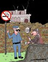 Cartoon: shell shocked sherlock (small) by kar2nist tagged sherlock,homes,smoking,kills