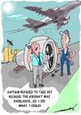Cartoon: solution (small) by kar2nist tagged aircraft,loading,engine,removal
