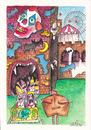 Cartoon: carnival train (small) by axinte tagged axi
