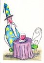 Cartoon: magic cup (small) by axinte tagged axi
