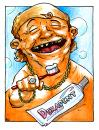 Cartoon: Dekadent (small) by Bülow tagged decadent,dekadent,toothpaste,zahnpasta