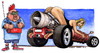 Cartoon: donne e motori (small) by Niessen tagged woman,engines