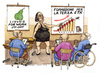 Cartoon: Formazione per la terza eta (small) by Niessen tagged rente,pensione,pension,alter,schulung,bildung