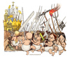 Cartoon: Indignati (small) by Niessen tagged revolution crises kinder children bambini
