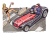 Cartoon: The Boss is back (small) by Niessen tagged bmw,cazzo,pene,seduzione,potenza,ragazza,dick,penis,seduction,power,girl,verführung,macht,frau