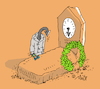 Cartoon: clock (small) by mitya_kononov tagged mityacartoon