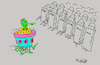 Cartoon: freedom (small) by mitya_kononov tagged mityacartoon