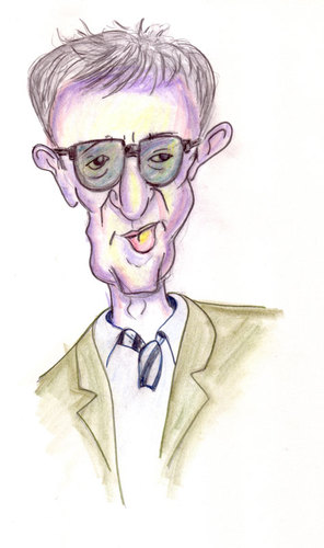 Cartoon: Woody (medium) by Strassengalerie tagged woody,allen
