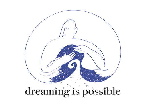 Cartoon: dreaming is possible (medium) by Herme tagged dreams