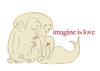 Cartoon: Imagine (small) by Herme tagged masturbation,loneliness,imagination