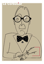 Cartoon: Le Corbusier (small) by Herme tagged le,corbusier