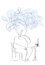 Cartoon: the blue smoke (small) by Herme tagged cigarette,smoker,addiction