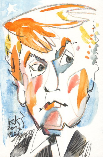 Cartoon: Donald Trump (medium) by Kestutis tagged donald,trump,kestutis,lithuania,usa,election,president,america,clinton