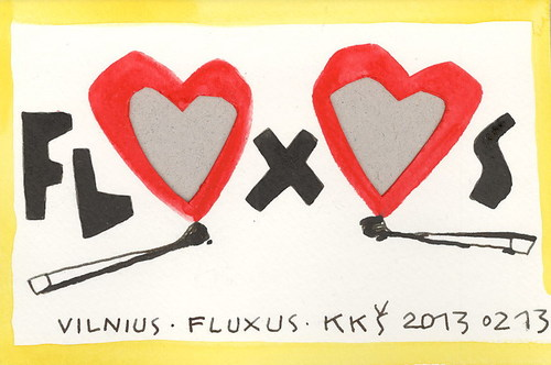 Cartoon: FLUXUS POSTCARD - DOMINO (medium) by Kestutis tagged domino,woman,man,postcard,fire,heart,vilnius,lithuania,kestutis,fluxus,lowe,valentines,valentine,mask,carnival