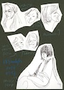 Cartoon: Artists. Model (small) by Kestutis tagged artist,model,sketch,kestutis,lithuania